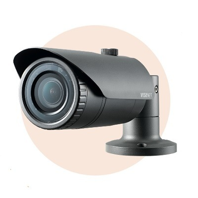 Hanwha Techwin America SNO-L6083R 2MP Full HD Weatherproof IR