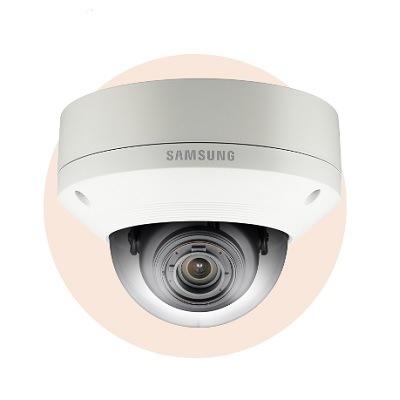 Hanwha Techwin America SNV-8080 5M Vandal-Resistant Network Dome Camera
