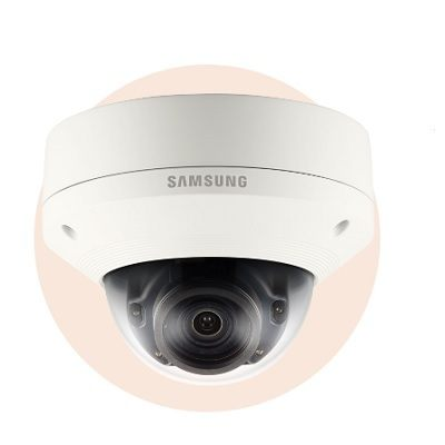 Hanwha Techwin America SNV-8081R 5M Vandal-Resistant Network IR Dome Camera