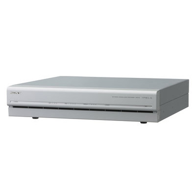 Sony NSR-25 - intelligent network surveillance recorder with entry-level storage, recording and audio support