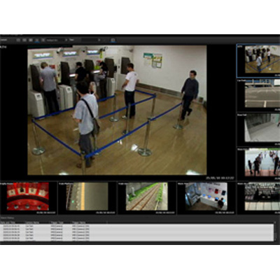 Sony RealShot Manager Lite - Entry level camera management software for IP security cameras