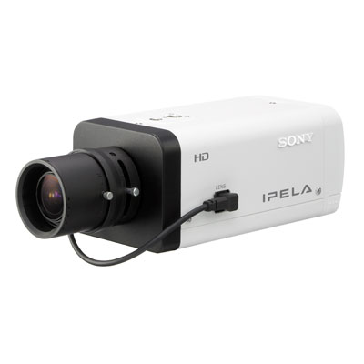 Sony SNC-CH140 and SNC-DH140 CCTV IP Cameras