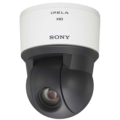 Sony SNC-EP580 day/night PTZ dome camera