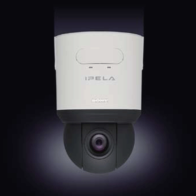 Sony SNC-RS44N dome camera with powerful and versatile zoom capability
