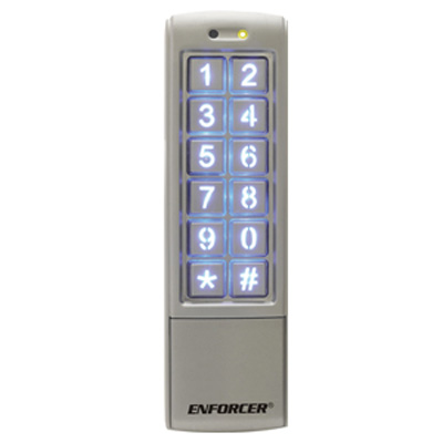 Superior Electronics SK-2323 Piezoelectric mullion-style keypad with proximity card reader