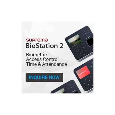 Suprema BioStation2 Access control reader