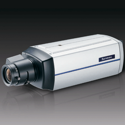 Surveon CAM2400 IP camera with tampering detection