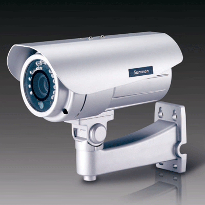 Surveon CAM3260 IP camera with wide temperature for outdoor application