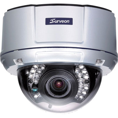 Surveon CAM4310 high definition fixed dome network camera