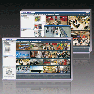 Surveon VMS2.4 CCTV software with powerful investigation modes
