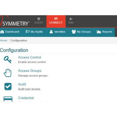 AMAG Symmetry CONNECT Identity Management Workflow Platform