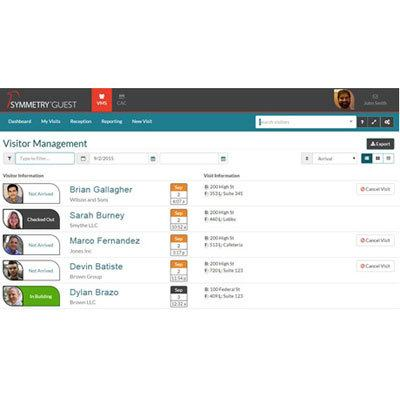 AMAG Symmetry GUEST Visitor Management Software