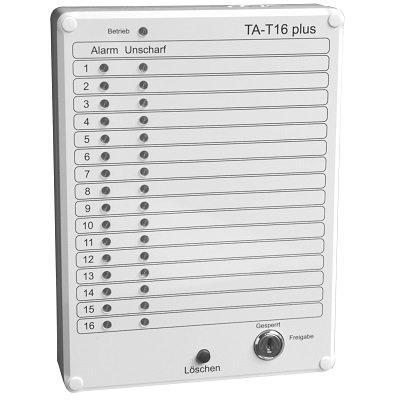 Vanderbilt TA-T16 Plus Display Panel