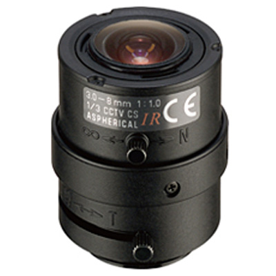 Tamron 13VM308ASIRII CCTV camera lens with zoom and iris