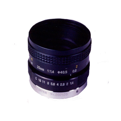 Tamron 26HA ultra high resolution lens with 25 mm focal length