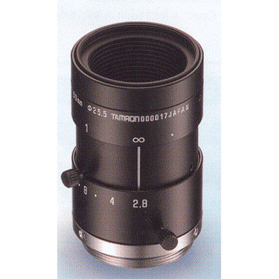 Tamron M118FM50 lens with 50mm focal length and manual iris