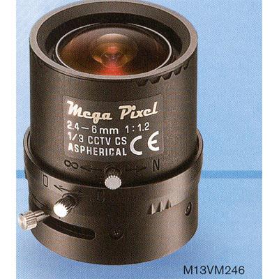 Tamron M13VM246 varifocal lens with 2.4-6mm focal length and manual iris