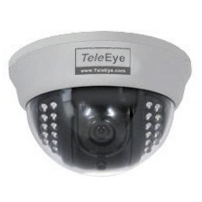 TeleEye DF187 IR dome camera with 520 TVL