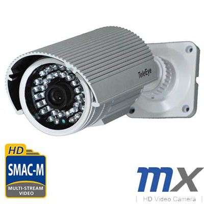 TeleEye introduces the MX700 series real-time HD video camera