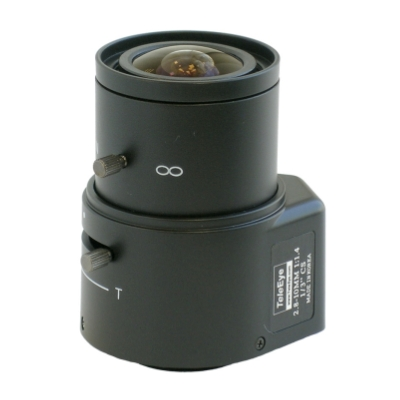TeleEye TE2810A CCTV camera lens with focal length up to 10mm and auto iris