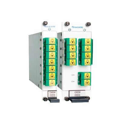 Teleste 8 CHANNEL MUX/DEMUX  8-channel compact multiplexer/ demultiplexer