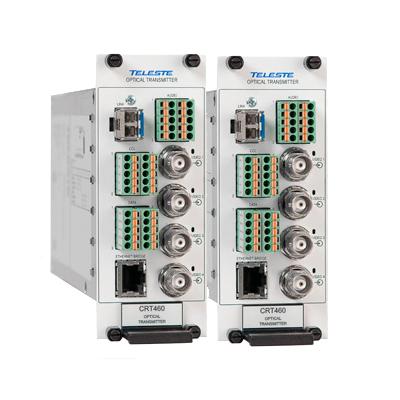 Teleste CFO460 four channel video link provides low cost video transmission