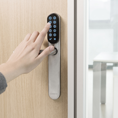SMARTair: Protect all your important internal doors with PIN-code security