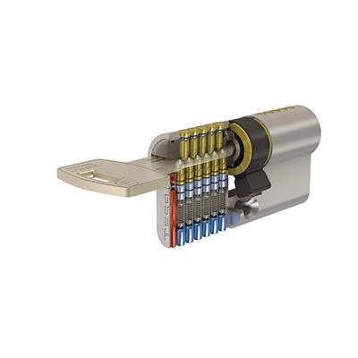TESA T10P reversible safety cylinder