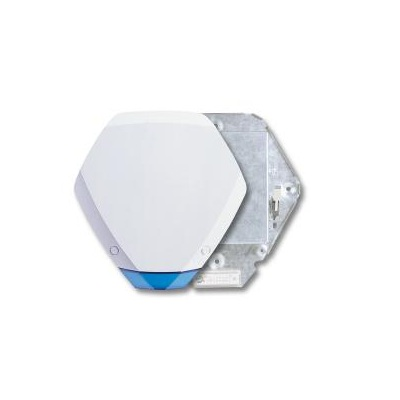 Texecom Premier Elite Odyssey 3 - Hexagonal design external sounder and strobe with 1.5mm galvanised steel enclosure