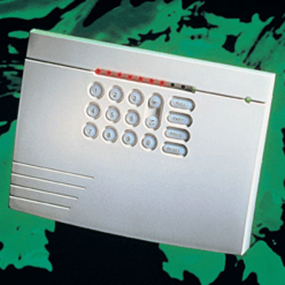 Texecom Veritas 8 Compact  slimline discreet standalone control panel with latching walk test mode