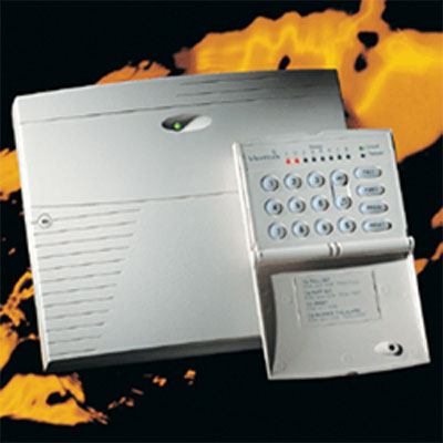 Texecom Veritas R8 control panel with 8 fully programmable zones