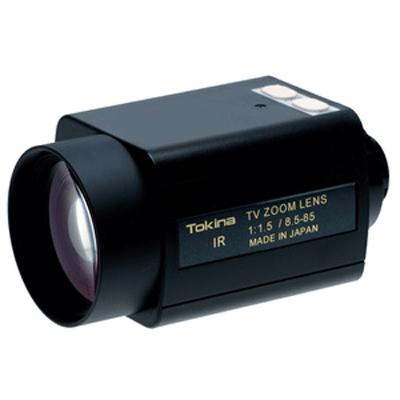 Tokina TM10Z8515N-IR motorised CCTV camera lens with 10x zoom