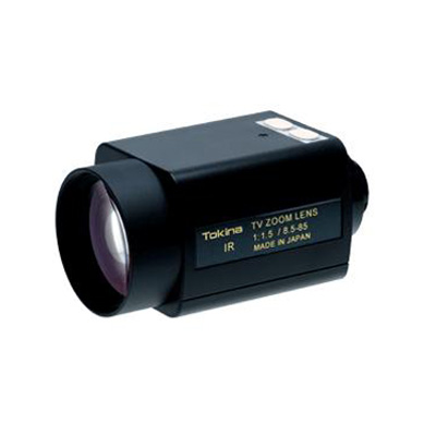 Tokina TM10Z8515PNIR IR corrected zoom lens with C mount