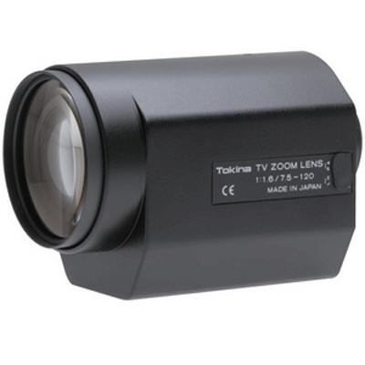 Tokina TM16Z7516N CCTV camera lens with 3 motors