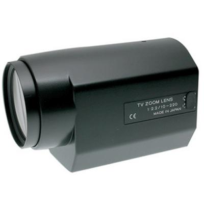 Tokina TM22Z1022N CCTV camera lens with 3 motors