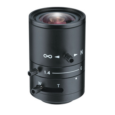 Tokina TVR0314HD megapixel CCTV camera lenses with manual iris