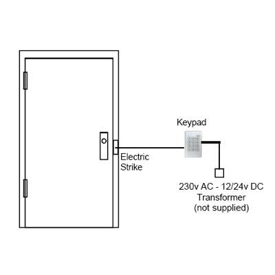 Trimec ES634-W Electronic keypad