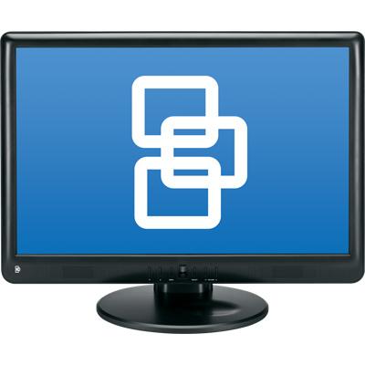 TruVision GEL-17VGA 17-inch LCD monitor
