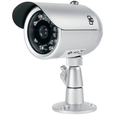 TruVision TVB-2102 700 TVL Color/Monochrome IR Bullet Camera