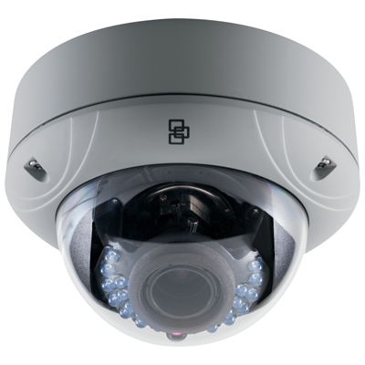 TruVision TVD-1103/3103 true day/night outdoor IR IP dome camera