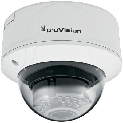 TruVision TVD-N210V-2-N 1/4 colour/monochrome indoor vandal IP dome camera