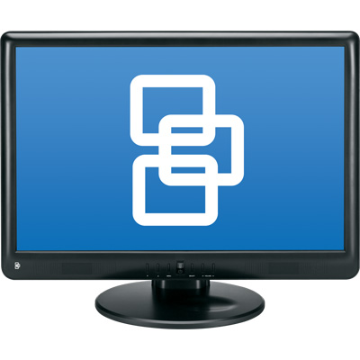 TruVision TVM-1900 19-inch LCD monitor
