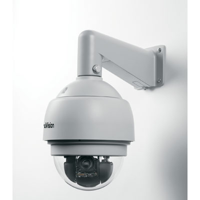 TruVision TVP-12DN-E mini PTZ colour/monochrome outdoor dome camera