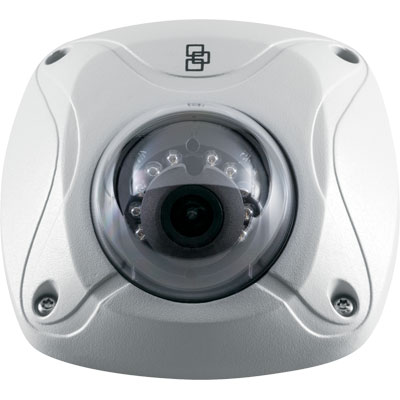 TruVision TVW-1101 1.3 MP true day/night outdoor IR wedge IP dome camera