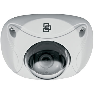 TruVision TVW-1109 1.3MP colour/monochrome mini vandal IP dome camera