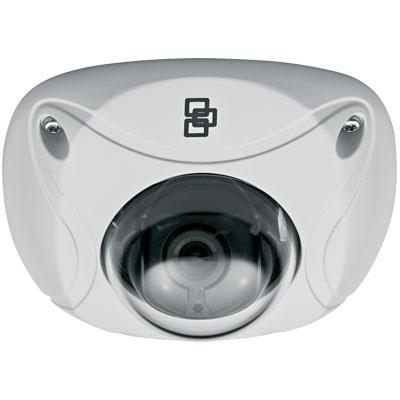 TruVision TVW-3109 1.3MP colour/monochrome low profile mini vandal IP dome camera