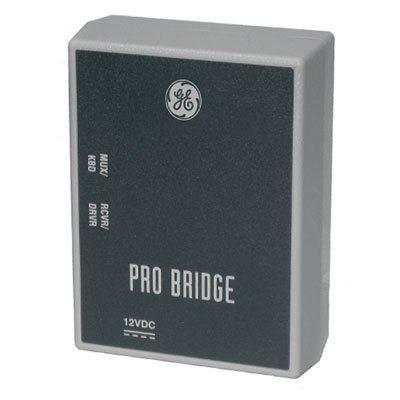 UltraView ProBridge 2 interfaces between GE Security DVMRe units and PTZ receiver/drivers and domes