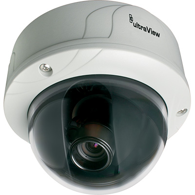 UltraView UVD-EVRDNR-VA9-P 540 TVL true day/night rugged dome camera