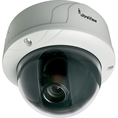 UltraView UVD-XP3DNR-VA9-P 540 TVL true day/night rugged dome camera