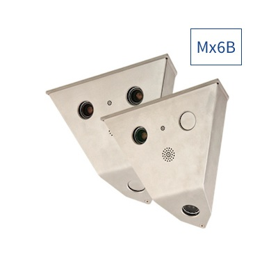 MOBOTIX Mx-V16B-6D6N041 V16B Complete Cam 2x 6MP, 2x B041 (Day & Night)